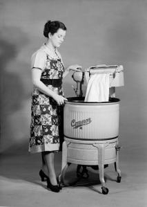 An 'electric copper' washing machine like my Nan used to use.