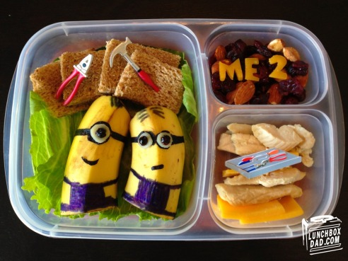 Seriously cool lunchbox art from lunchboxdad.com