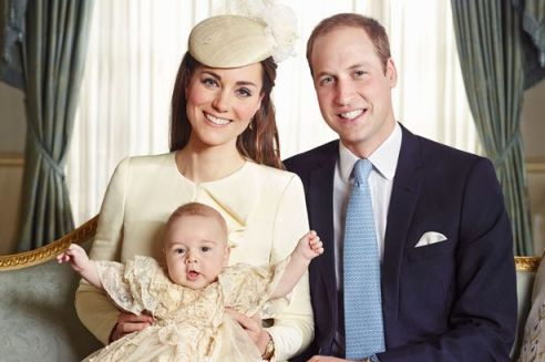 Do you think Prince George will ever whack his mum in the face?