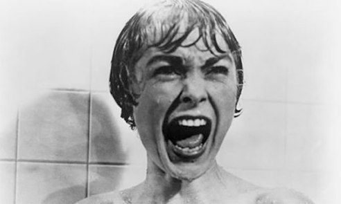 Woman horrified when shower interrupted. I know how you feel, love!